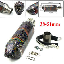 Motorcycle Exhaust Muffler Pipe Cross-country Motorbike 38-51mm Modified Parts