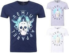 Mens Smith & Jones Designer Short Sleeved T-Shirts Cotton Crew Neck Casual Top