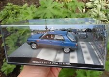 007 JAMES BOND - Renault 11 French Taxi - A View to a Kill 1:43 BOXED CAR MODEL