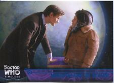 Doctor Who Timeless Blue Parallel [##/99] Base Card #89 Nightmare in Silver