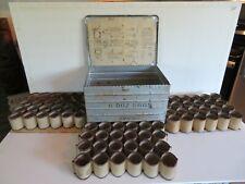 Antique Metal Egg Carrier 6 Dozen Eggs Metal Products Mfg. Co. Fredericksburg VA