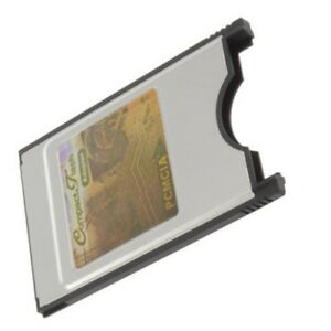 CF Card to PCMCIA ADAPTER TYPE 1 for Laptop Compact Flash Janome Elna Free Ship