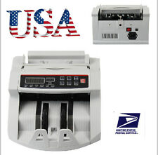 Bill Money Counter Worldwide Currency Cash Counting Machine UV & MG Counterfeit