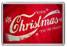 Enjoy Christmas Xmas Fridge Magnet