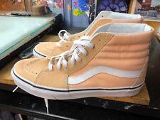 Vans SK8 Hi Bleached Apricot Suede Canvas Size US 10 Men  VN0A38GEU5Y New