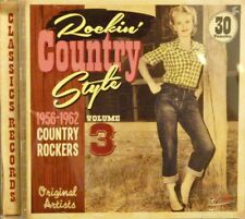 ROCKIN' COUNTRY STYLE - Volume #3 - 30 VA Tracks on Classic Records