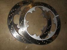 kawasaki zx1000 1000 zx-10 ninja front brake rotors discs disk 88 89 1990 1988