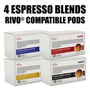 RIVO KUERIG® compatible pods Italian Coffee Espresso capsules FREE SHIPPING!