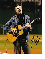 JAMES TAYLOR SIGNED BOSTON RED SOX ANTHEM 8X10