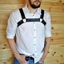 Leather Harness Garter Belt Restrictions Chest Straps Leather Belt Strap For Men