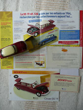 """CITROËN DS 19 Dinky Toys Atlas N°530 Collection """"Les Ouvrants""""  NEUF !!"""