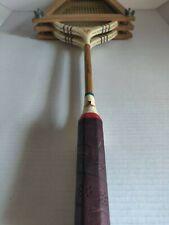 Vintage pair of Old Badminton Rackets Cortland Pro Model