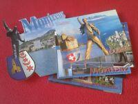 LOTE DE 25 POSTALES POST CARDS MONTREUX SWITZERLAND FREDDIE MERCURY QUEEN MUSIC