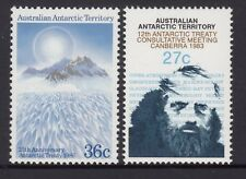 AAT 1983 and 1986 Antarctic Treaty issues