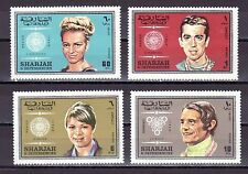 Sharjah, Michel cat. 527, 532-533, 538. Olympic Winners values from set.