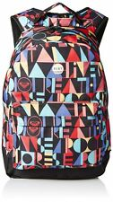 NWT Girl Roxy Soul Sister Logo Padded Laptop Tablet Backpack School Book Bag New