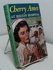 Cherry Ames at Hilton Hospital by Helen Wells - #20 - green spine
