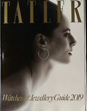 TATLER WATCHES & JEWELLERY GUIDE 2019 KAYA SCODELARIO Tatler Watch Awards @NEW@