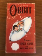 Vintage 1950's ORBIT NEW SPACE GAME   Playing CARDS  WITH INSTRUCTIONS