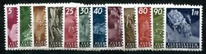 LIECHTENSTEIN 1951 289-300 ** POSTFRISCH TADELLOSER SATZ 170€(49418