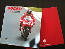 DUCATI YEARBOOK 2006 Troy BAYLISS Loris CAPIROSSI Desmo 999 F06 DUCATI like new