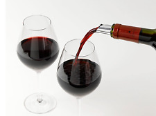 Drop Stop-drips Flexible Wine Pourer Discs Reusable Pack 2