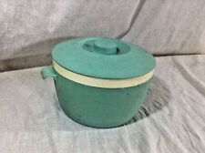 Vintage Bolero Therm O Ware Ice Bucket Bowl And Lid Turquoise
