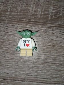 Rare Authentic NY I LOVE Yoda Lego Minifigure