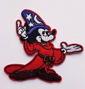 Mickey Mouse the Sorcerer Fantasia Iron On patch Sew on Transfer