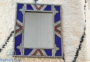 Mosaic Mirror Moroccan Mirror Mosaic wall mirror ceramic mirror boho mirror