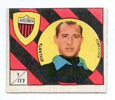 FIGURINA    CALCIATORI   VAV  1958-59    NR  177   BOCCIARDI   ATALANTA