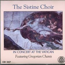 The Sistine Choir In Concert at the Vatican; Gregorian Chants