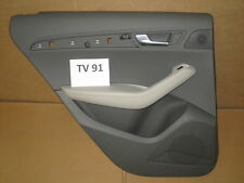 AUDI Q5 8r Paneles de puerta lado conductor izquierda trasero Gris Cuero