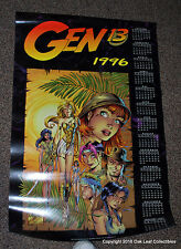 Gen 13 Calendar 1996 Poster 24 X 36 J. SCOTT CAMPBELL Wildstorm Image