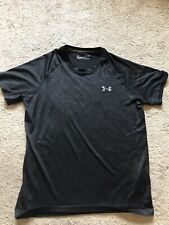 Euc Men's Black Under Armour Heatgear Shirt Size Small Loose