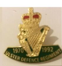 udr 1970 1992 enamel badge ulster defence regiment british army Infantry militar