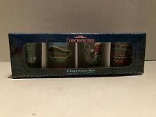 Set of 4 National Lampoon's Christmas Vacation Shot Glasses Glassware Set