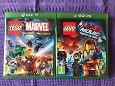 XBOX ONE LOTTO  LEGO  2 GIOCHI
