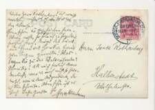 Schiffspost, Deutsch-Amerikanische Seepost BREMEN-NEW YORK 1913 Foto-AK (51260)