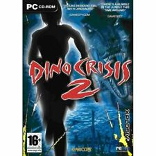 Dino Crisis 2 - PC CD-ROM Horror Action Adventure Game (Disc in Sleeve)