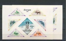 LUNDY 1961 EUROPA Wildlife Mini Sheets MNH x 2 (K1007)