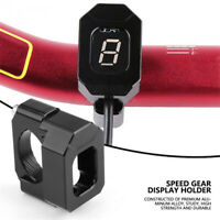 Motorbike Gear Display Speed Indicator Bracket Mount Accessories Universal Black