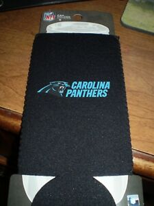 Carolina Panthers  24 ounce  KOOZIE  HOLDER Holds Big Cans or Soda Bottle