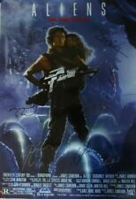 Aliens Rare 20th Century Promo Poster Signed Autographed 8 Cast & Crew Members