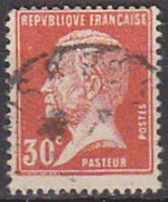 """FRANCE TIMBRE STAMP N°173 """" TYPE PASTEUR , 30 C ROUGE """" OBLITERE TB"""
