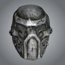 Adult Metallic Warrior Cyborg Mask Halloween Wars Fancy Dress