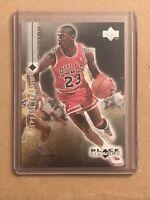 🏀☄️1998-99 Black Diamond Upper Deck  Michael Jordan #3-NM-Mint-Bulls**rare**