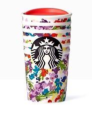 Starbucks Floral Double Wall Traveler/10 fl oz