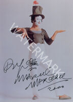MARCEL MARCEAU SIGNED 10X8 PHOTO, GREAT STUDIO IMAGE, LOOKS AWESOME FRAMED