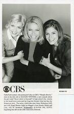 FAITH FORD JENNY ROBERTSON ALEX KAPP HORNER MAGGIE WINTERS 1998 CBS TV PHOTO